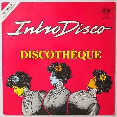 "Discothèque  - Intro disco - 12"""