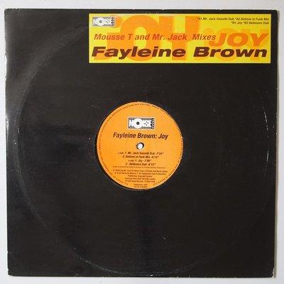 """Fayleine Brown - Joy - 12"""""""