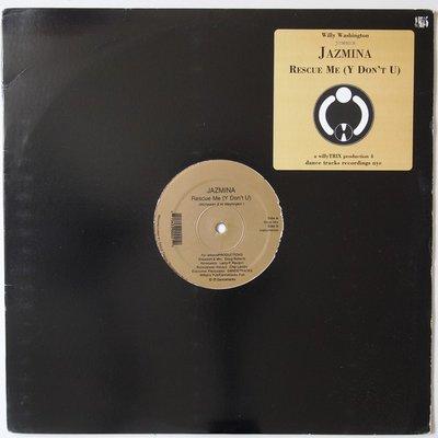 "Willy Washington Presents Jazmina - Rescue Me (Y Don't U) - 12"""