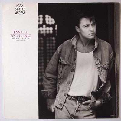 "Paul Young  - Wonderland - 12"""