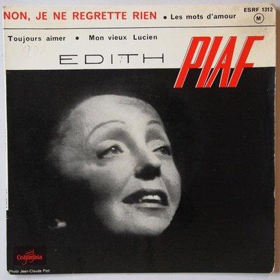 Edith Piaf - Non, je ne regrette rien - Single
