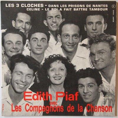 Edith Piaf - Les 3 cloches - Single
