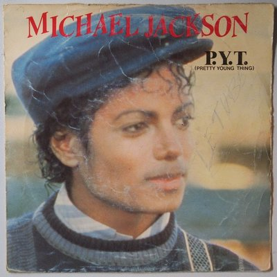 Michael Jackson - P.Y.T. - Single