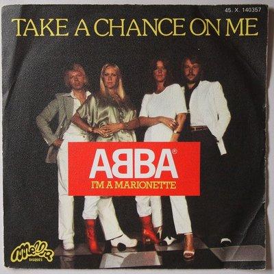 Abba - Take a chance on me - Single