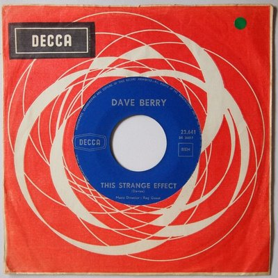 Dave Berry - This strange effect - Single