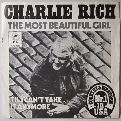 Charlie Rich - The most beautiful girl - Single