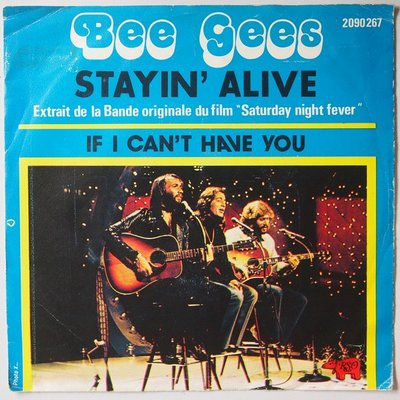 Bee Gees - Staying alive - Single