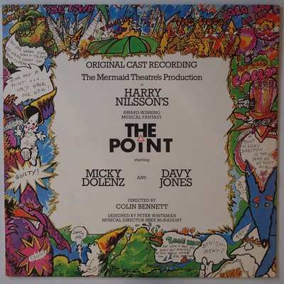 Micky Dolenz and Davy Jones - Harry Nilsson's The Point  - LP