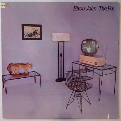 Elton John - The fox - LP