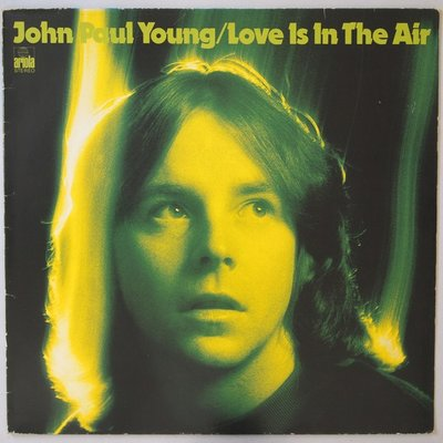 John Paul Young - Love is in the air - LP