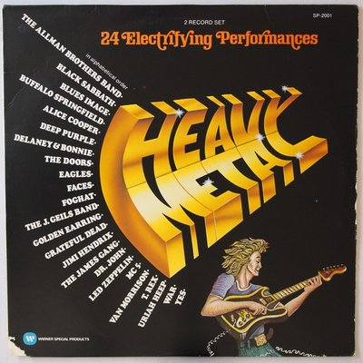 Various - Heavy Metal - 24 Electrifying Performances - LP