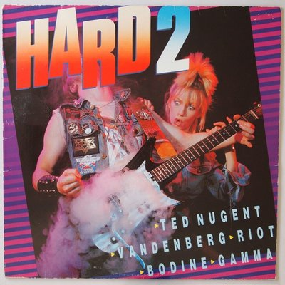Various - Hard volume 2 - LP