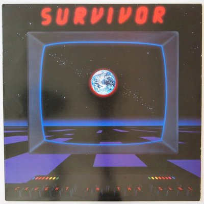 Survivor - Caught in the game - LP