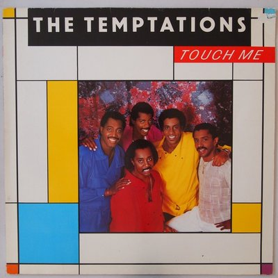 Temptations, The - Touch me - LP