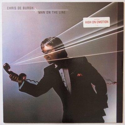 Chris De Burgh - Man on the line - LP