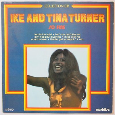 Ike & Tina Turner - So fine - LP