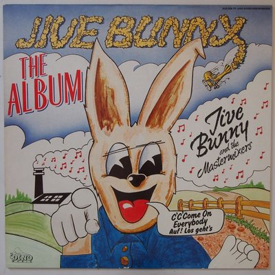 Jive Bunny and The Mastermixers  - The album - LP