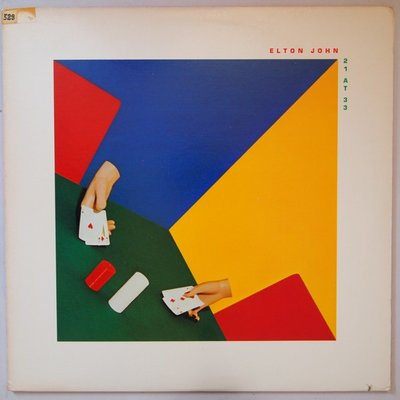 Elton John - 21 at 33 - LP