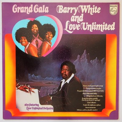 Barry White and Love Unlimited - Grand gala - LP