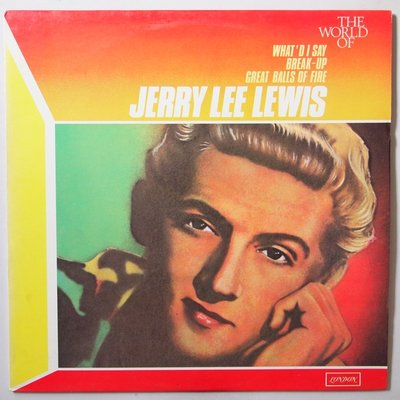 Jerry Lee Lewis - The world of    - LP