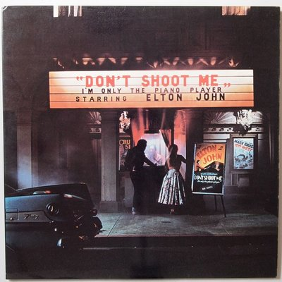 Elton John - Don't shoot me I'm only the piano player - LP