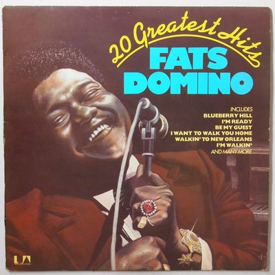 Fats Domino - 20 Greatest Hits - LP