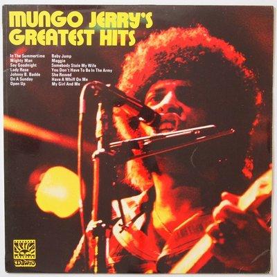 Mungo Jerry - Mungo Jerry's Greatest Hits - LP