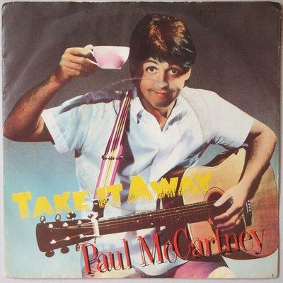 Paul McCartney - Take it away - Single