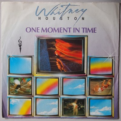 Whitney Houston - One moment in time - Single