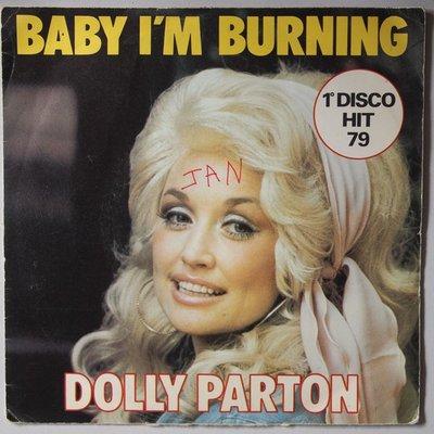 Dolly Parton - Baby I'm burning - Single