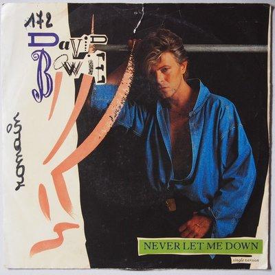 David Bowie - Never let me down - Single