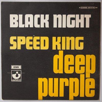 Deep Purple - Black night / Speed King - Single
