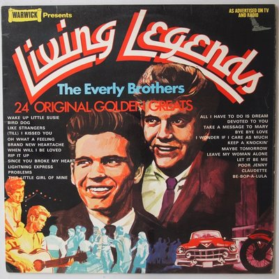 Everly Brothers, The - Living legends - LP