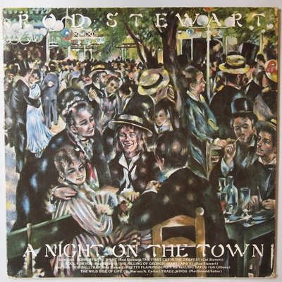 Rod Stewart - A night on the town - LP