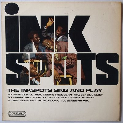 Ink Spots, The - The Ink Spots sing and play - LP
