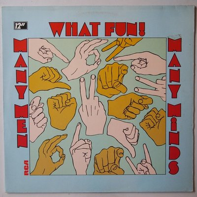 What Fun - Many men many minds - 12""