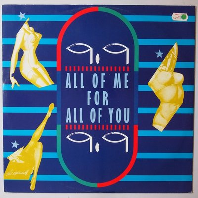 9.9 - All of me for all of you - 12""