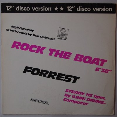 Forrest  - Rock the boat - 12""
