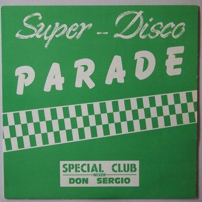 "Various - Super-Disco Parade - 12"""