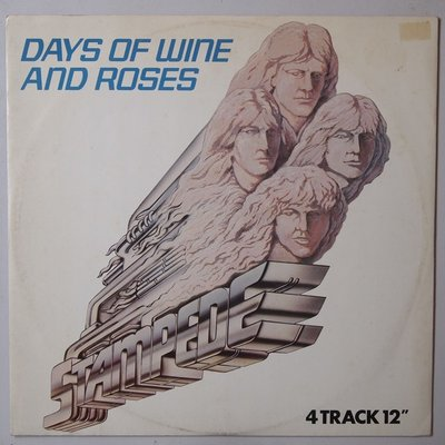 Stampede - Days of wine and roses - 12""