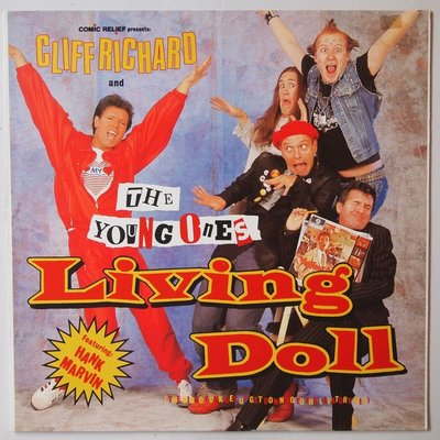 Cliff Richard & The Young Ones - Living doll - 12""