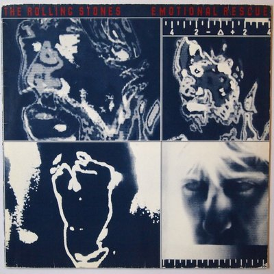 Rolling Stones, The - Emotional rescue - LP