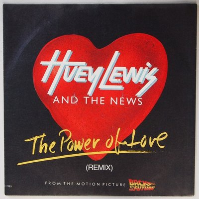 Huey Lewis and The News - Power of love - Single