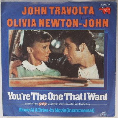 John Travolta & Olivia Newton-John - You're the one that I want - Single