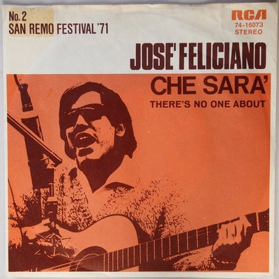 José Feliciano - Che sara' - Single