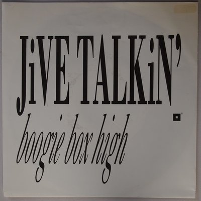 Boogie Box High - Jive talkin' - Single