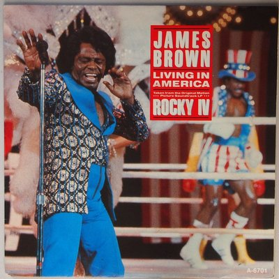 James Brown - Living in America - Single