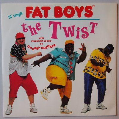 """Fat Boys with Chubby Checker - The twist - 12"""""""