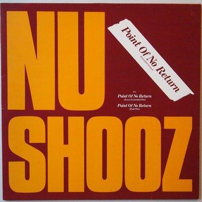 "Nu Shooz - Point of no return - 12"""