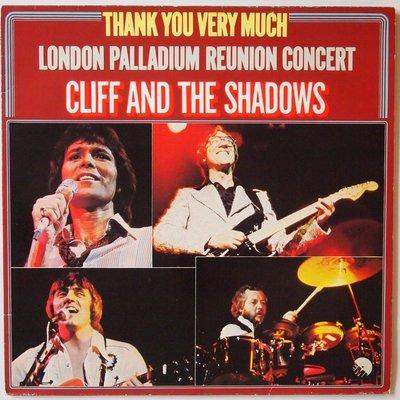 Cliff Richard and The Shadows - Thank you very much - London Palladium reunion concert - LP